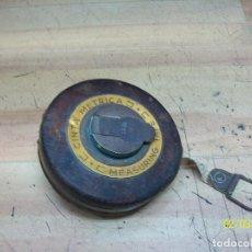 Antigüedades: ANTIGUA CINTA METRICA-10 METROS. Lote 238794435