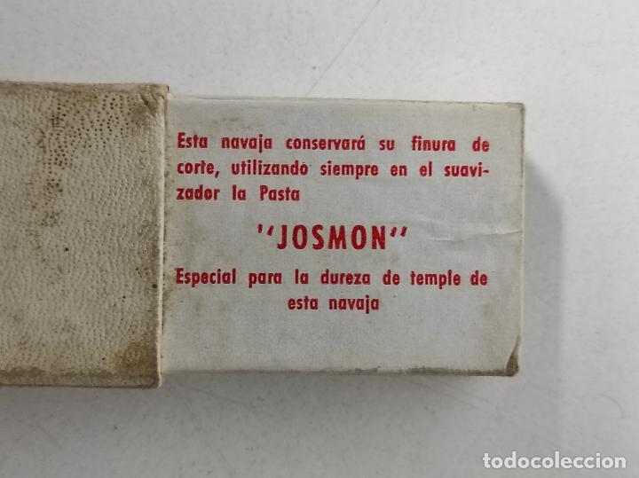 Antigüedades: Navaja de Afeitar Filarmónica 14, Doble Temple - José Montserrat Pou - con Caja Original - Foto 11 - 239016995