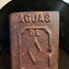 Antigüedades: TAPA CONTADOR AGUA .. Lote 239557855