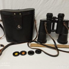 Oggetti Antichi: BINOCULARES PRISMATICOS ANTIGUOS CCCP USSR CON FILTROS. Lote 239586905