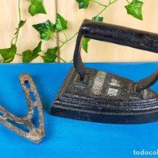 Antigüedades: PLANCHA EN FORJA. Lote 239676775