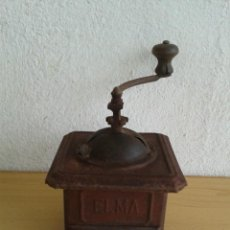 Antigüedades: ANTIGUO MOLINILLO CAFE ELMA LATA METAL. Lote 239707710