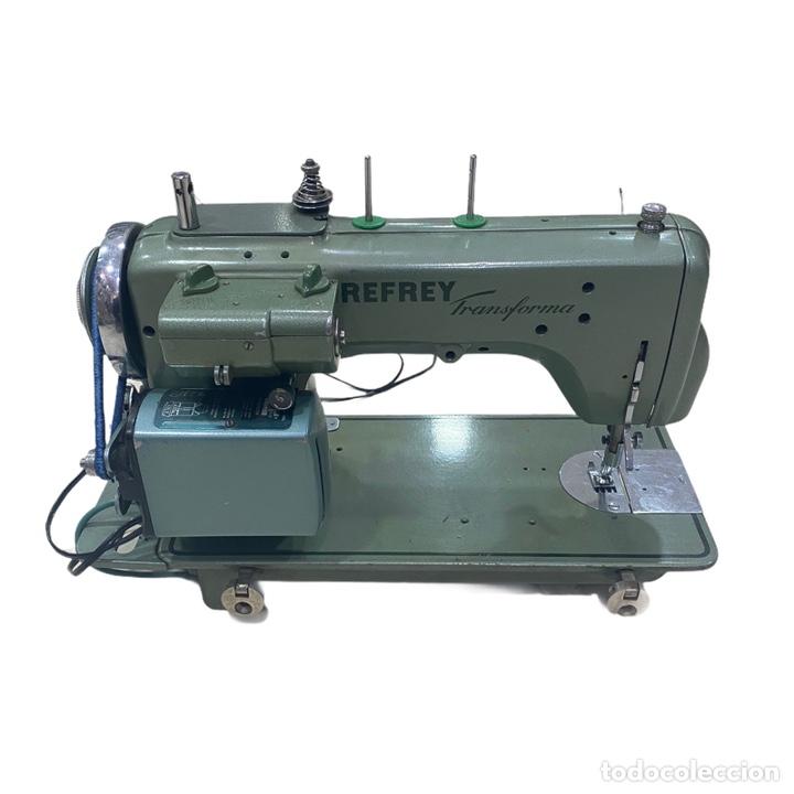 Antigüedades: Máquina Coser REFREY TRANSFORMA - Foto 3 - 239730675