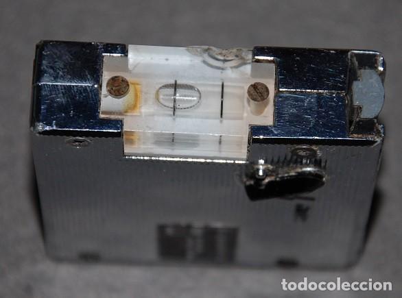 Antigüedades: ANTIGUO METRO NIVEL DE METAL NIVOMETRE 131 MADE IN FRANCE - Foto 4 - 239926600