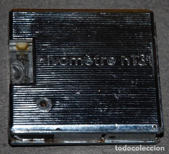 Antigüedades: ANTIGUO METRO NIVEL DE METAL NIVOMETRE 131 MADE IN FRANCE - Foto 5 - 239926600