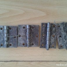 Antigüedades: ANTIGUAS BISAGRAS PUERTA VENTANA. Lote 239971805
