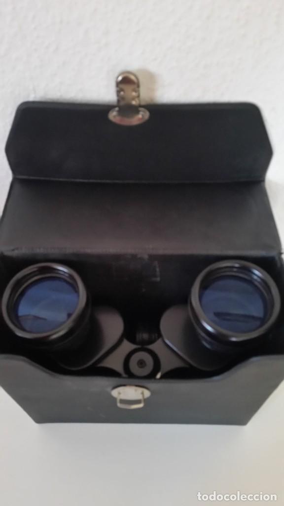 Antigüedades: BINOCULES MARINE VERGUTETE OPTIK 8X40,Blickwinkel 7°Poco Uso como Nuevos Caja Originale - Foto 4 - 240007345