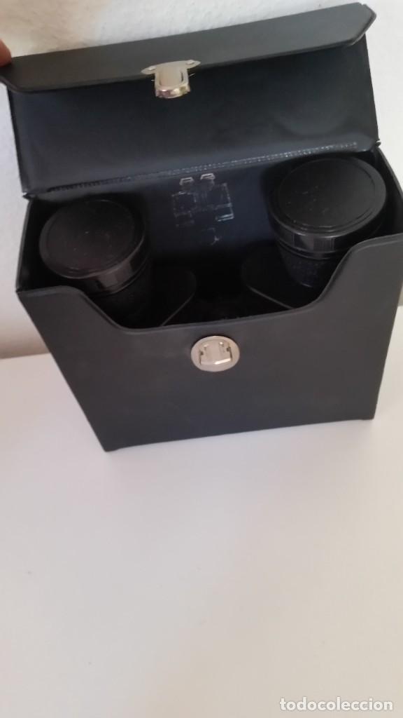 Antigüedades: BINOCULES MARINE VERGUTETE OPTIK 8X40,Blickwinkel 7°Poco Uso como Nuevos Caja Originale - Foto 11 - 240007345