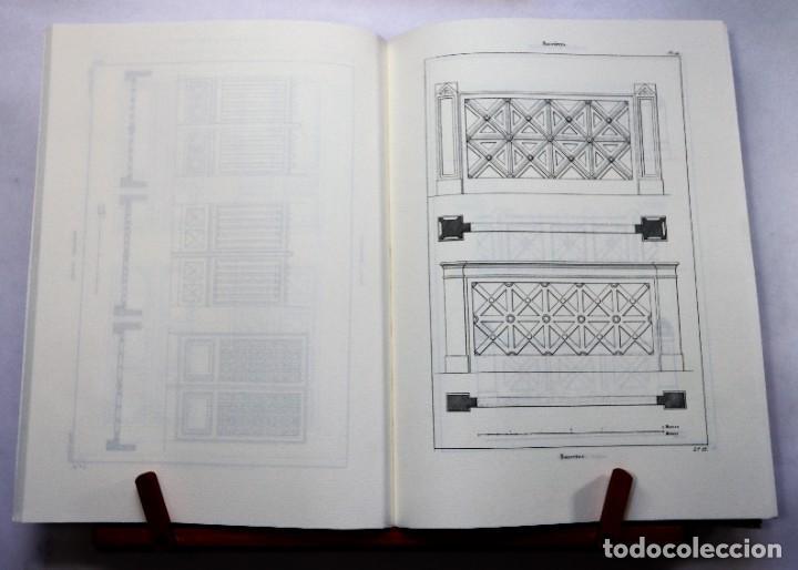 Antigüedades: Nuevo tratado de carpintería (1857) ilustrado con 40 láminas. 22 x 29 cm. Madera Ebanistería Muebles - Foto 2 - 240028980