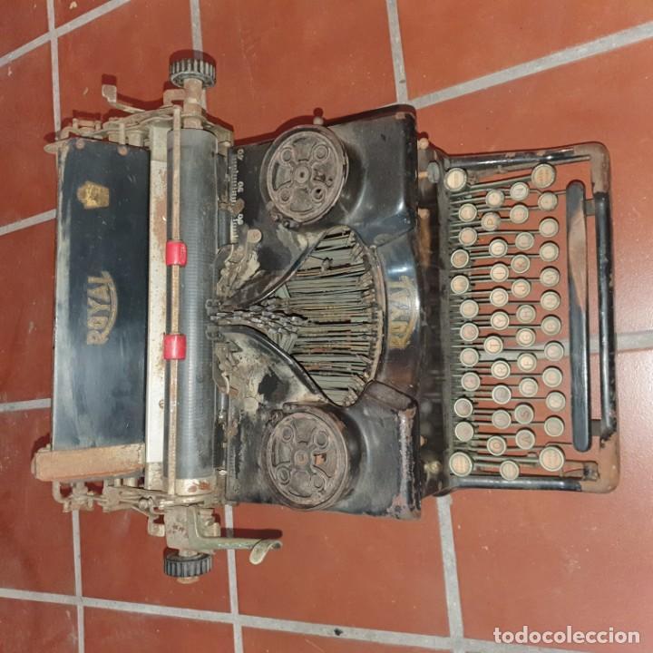 ANTIGUA MÁQUINA ROYAL (Antigüedades - Técnicas - Máquinas de Escribir Antiguas - Royal)