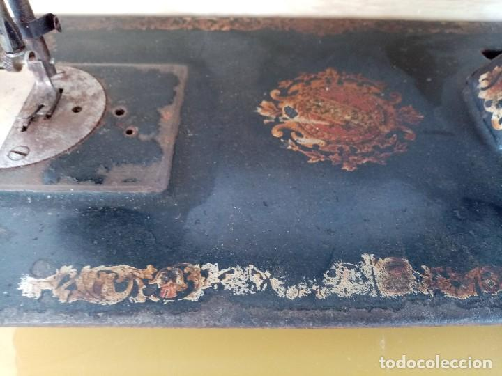 Antigüedades: MAQUINA DE COSER WERTHEIM RAPIDA - Foto 12 - 240111495
