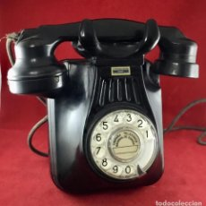 Telefones: ANTIGUO TELÉFONO ESPAÑOL, DE BAQUELITA, FABRICADO POR STANDARD ELÉCTRICA PARA ABONADOS DE LA CNTE. Lote 240168535