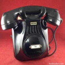 Teléfonos: ANTIGUO TELÉFONO DE BAQUELITA, 5522A, BATERÍA CENTRAL, DE STANDARD ELÉCTRICA, PARA LA CTNE.. Lote 240169135