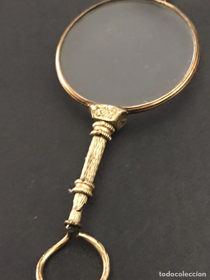 Antigüedades: Antiguos impertinentes chapando en oro - Foto 2 - 240224865
