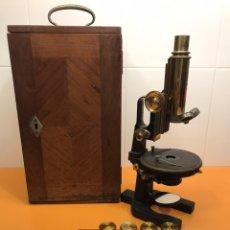 Antigüedades: MICROSCOPIO CARL ZEISS. Lote 240271480