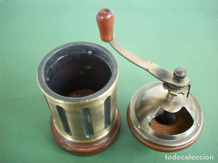 Antigüedades: MOLINILLO DE CAFE REDONDO . - Foto 10 - 240288760