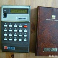 Antigüedades: CALCULADORA SHARP EL-8024 YLCD. Lote 240333885