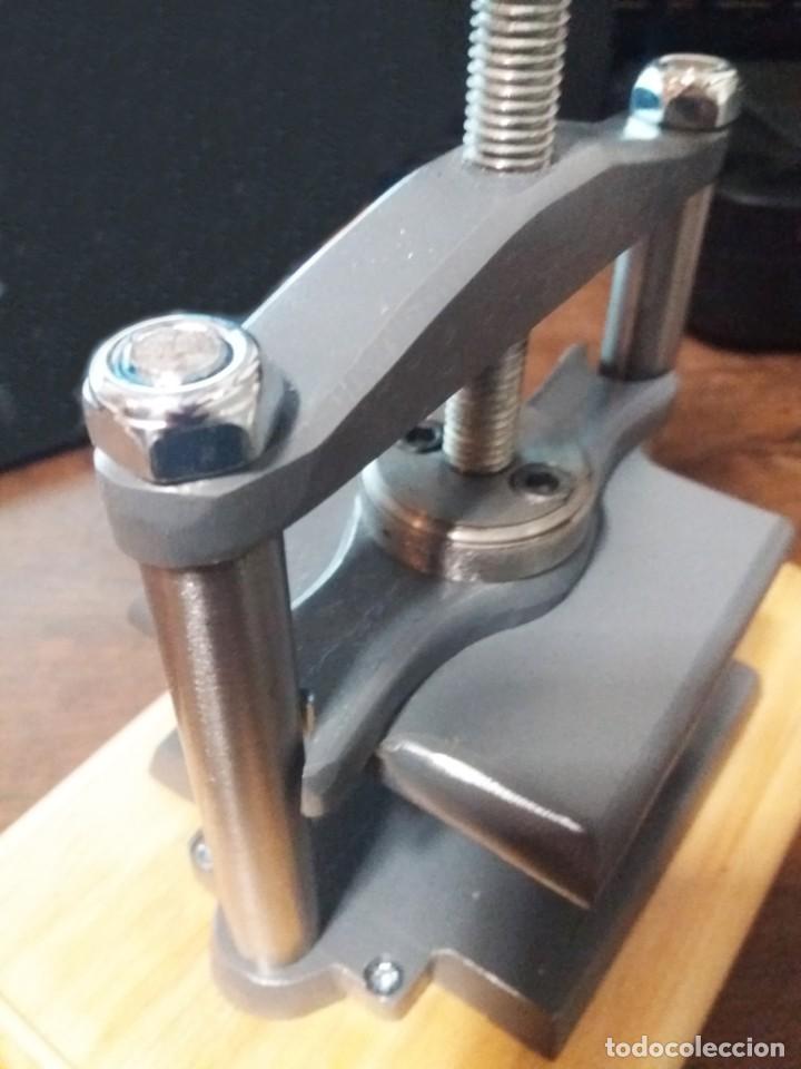 Antigüedades: maquina de prensar - Foto 3 - 240363940