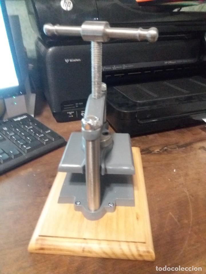Antigüedades: maquina de prensar - Foto 4 - 240363940