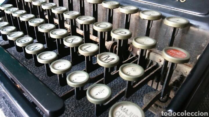 Antigüedades: Maquina de escribir Continental - Foto 5 - 240464380