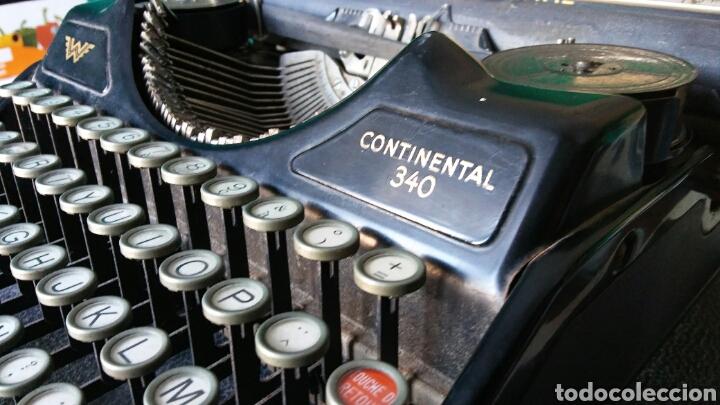 Antigüedades: Maquina de escribir Continental - Foto 6 - 240464380