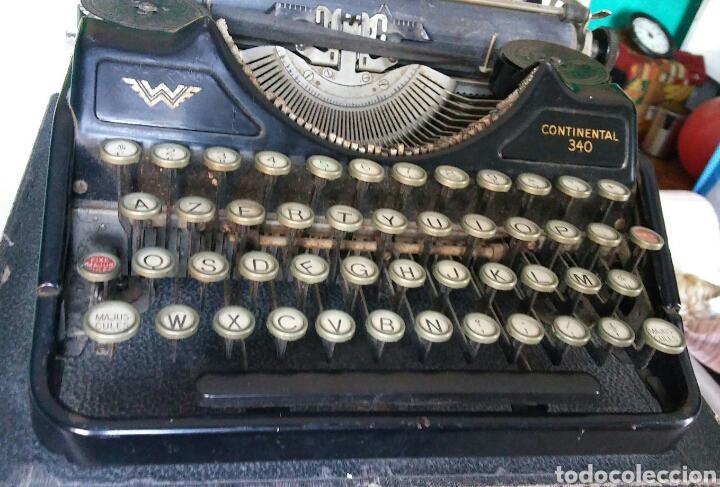 Antigüedades: Maquina de escribir Continental - Foto 7 - 240464380