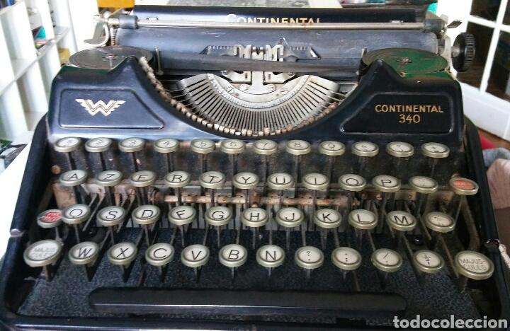 Antigüedades: Maquina de escribir Continental - Foto 8 - 240464380