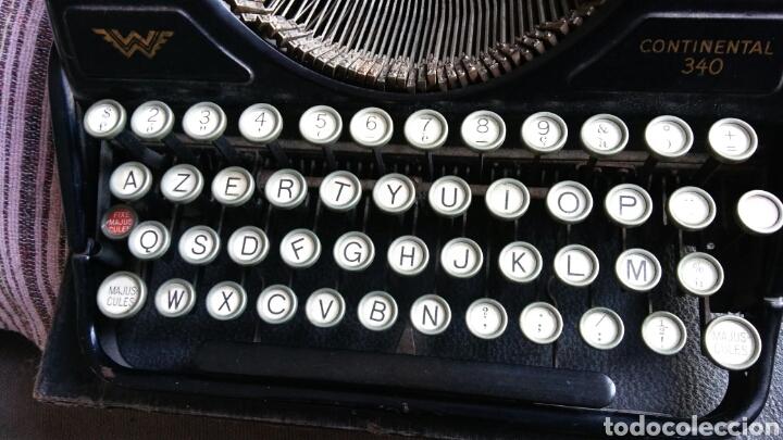 Antigüedades: Maquina de escribir Continental - Foto 9 - 240464380
