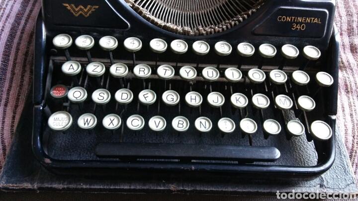 Antigüedades: Maquina de escribir Continental - Foto 10 - 240464380