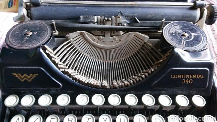 Antigüedades: Maquina de escribir Continental - Foto 11 - 240464380