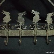 Antigüedades: ESPETERA DE HIERRO FORJADO S. XIX. Lote 240477750