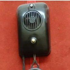 Teléfonos: TELÉFONO COMUNICADOR ANTIGUO BAQUELITA NEGRO. Lote 240543150