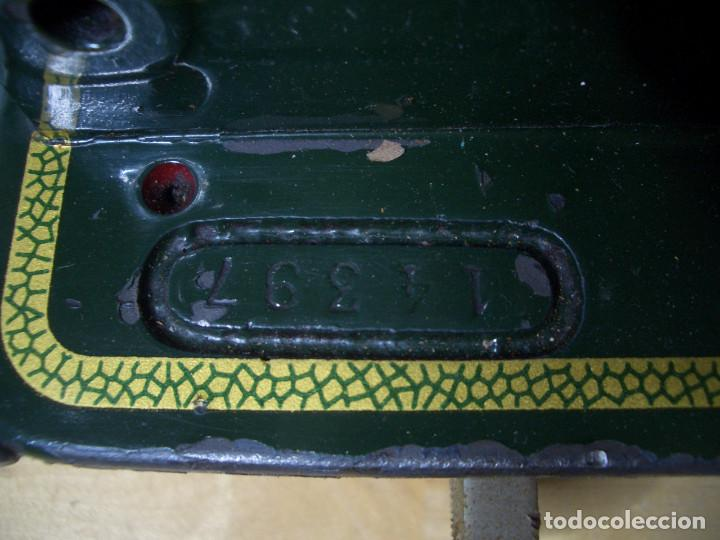 Antigüedades: MAQUINA DE COSER REFREY CL 317 ANTIGUA CL137 VINTAGE - Foto 11 - 240625890