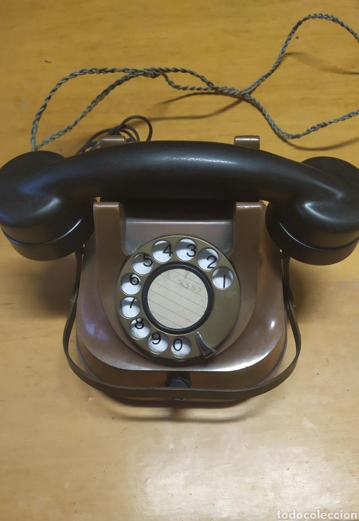TELÉFONO ANTIGUO AÑOS 50 (Antigüedades - Técnicas - Teléfonos Antiguos)