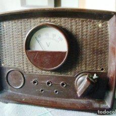 Antigüedades: VOLTÍMETRO TRYEL TIPO TV AÑOS 70. Lote 240712830