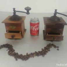 Antigüedades: MOLINILLOS PEUGEOT FRERES (LOTE DE 2 UDS) [PEUGEOT COFFE GRINDER]. Lote 240795695