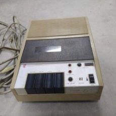 Teléfonos: CONTESTADOR AUTOMÁTICO DE LLAMADAS AMPER CM 11B CON SUS CABLES ORIGINALES. AÑO 1985. Lote 240939780