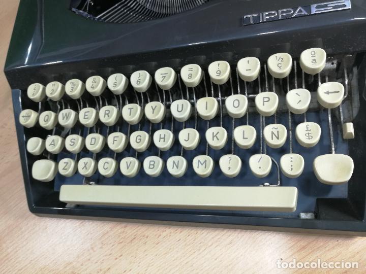 Antigüedades: Máquina de escribir portatil TRIUMF model Tippa, MUY BOTITA, FUNCIONANDO - Foto 7 - 240955430