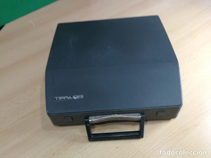Antigüedades: Máquina de escribir portatil TRIUMF model Tippa, MUY BOTITA, FUNCIONANDO - Foto 8 - 240955430