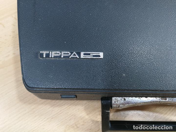 Antigüedades: Máquina de escribir portatil TRIUMF model Tippa, MUY BOTITA, FUNCIONANDO - Foto 9 - 240955430
