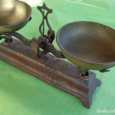 Antigüedades: ANTIGUO PESO BALANZA PEQUEÑO TAMAÑO 1 KILO. Lote 241600815
