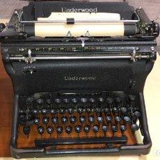 Antigüedades: UNDERWOOD STANDARD TYPEWRITER 1939 NUMERO 10 MAQUINA ESCRIBIR. Lote 241786990