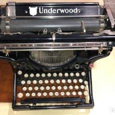 Antigüedades: MAQUINA ESCRIBIR AÑO 1936 UNDERWOOD NO. 6-14 CARRO MEDIO. Lote 241791500