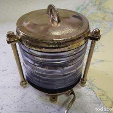 Antigüedades: FAROL DE BARCO - TOPE DE SITUACION. Lote 241794285