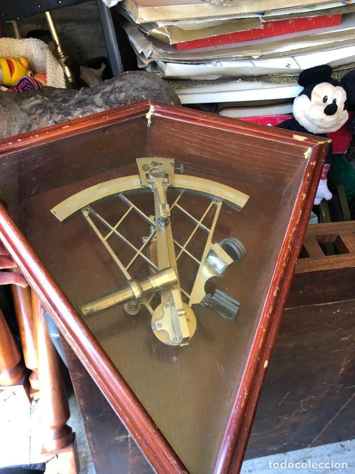 Antigüedades: Sextante marítimo - Foto 2 - 241828675