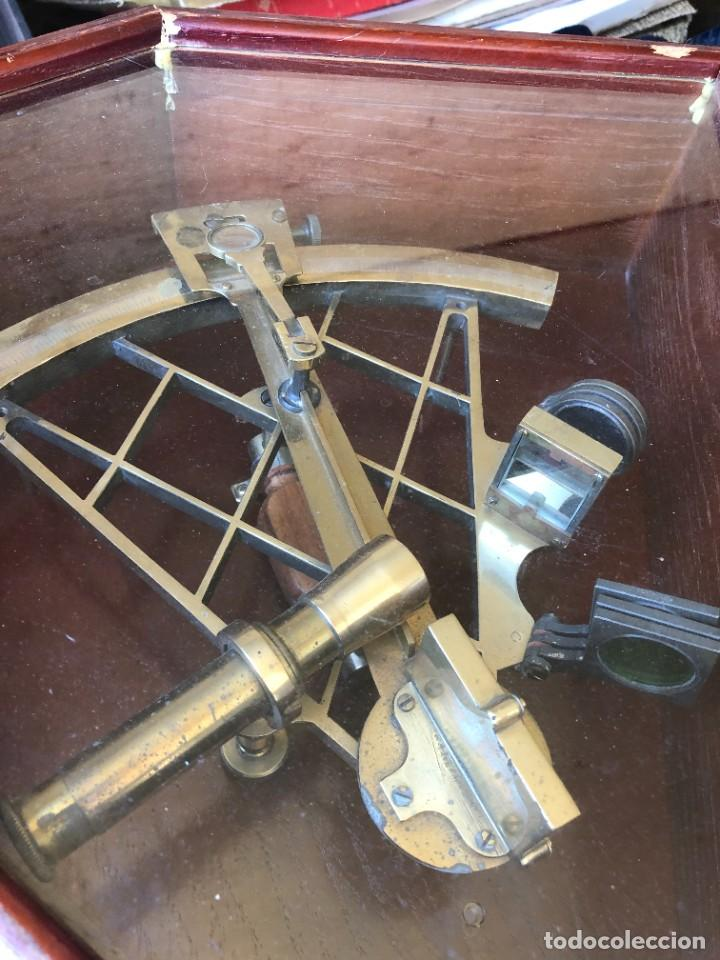 Antigüedades: Sextante marítimo - Foto 3 - 241828675