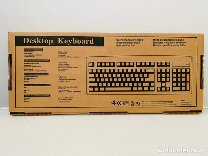 Antigüedades: Mitsumi Keyboard 5201 - Foto 2 - 241910070