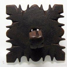 Antigüedades: ANTIGUO CLAVO CINCELADO, GRANDE Y GRUESO, FORJA, DE PICO A PICO 12,5 CM. Lote 241939360