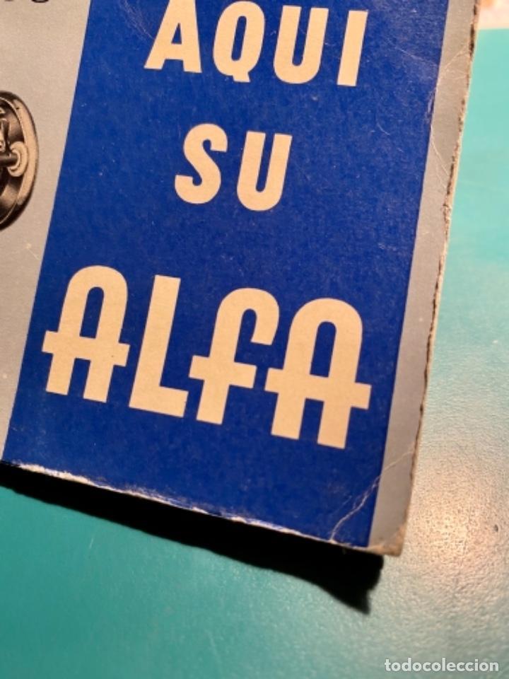 Antigüedades: LIBRITO INSTRUCCIONES PARA SU USO DE LA MÁQUINA DE COSER ALFA, MODELO 100 AÑO 1967 - Foto 9 - 241953640