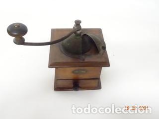 Antigüedades: ANTIGUO MOLINILLO DE CAFE PEUGEOT CON MANIVELA (MANUAL) - Foto 2 - 242108190